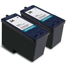 CARTUCCIA INCHIOSTRO Lexmark 34 & 35 Per X5270 X5470 X2550 Colore E Nero 2 Pack