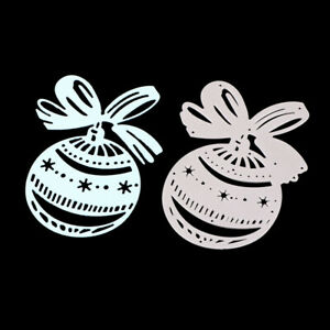 Stanzschablone-Kugel-Ball-Weihnachten-Neujahr-Oster-Hochzeit-Geburtstag-Karte
