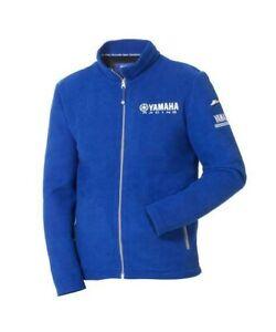 Genuine Yamaha Paddock Blue Men/'s Jacket Tokyo Blue Hooded Fleece Jacket NEW