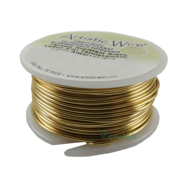 Antique Copper Wire  20 GA  10 Yd Round Dead Soft Non Tarnish Pack Of 3