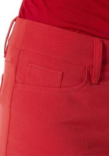 Anzughose 7//8 Bootcut Hose leicht ausgestellt rot 860182 860828
