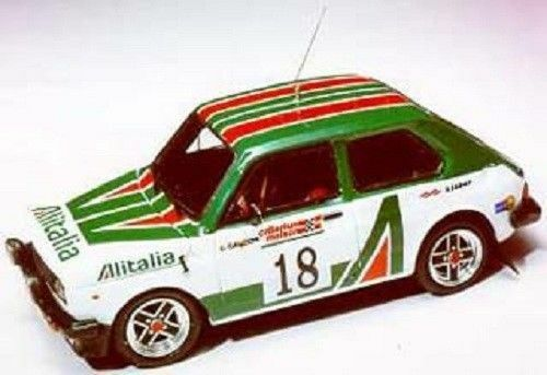 Kit Fiat 127 Abarth Gr.2 Alitalia Rally Quebec 1978 - Arena Models kit 1 43