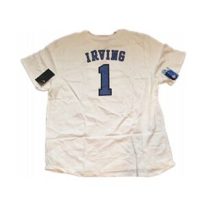 b4237198c NEW NWT Duke Blue Devils Kyrie Irving  1 Nike Men s Shirt XXL 2XL ...
