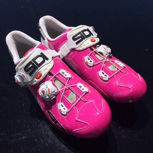 New SIDI WIRE Carbon Road Bike Cycling shoes  Fuxia Pink EU40.5-44.5  buy best