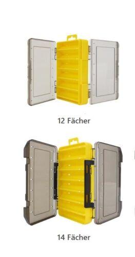 Wobblerbox beidseitig Kunstköder Box Dose Aufbewahrung Gummifische Hardbaits JIG