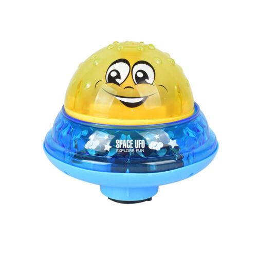 Baby Badewanne Spray Wasser Spielzeug schwimmende LED-Licht /& Musik Kinder