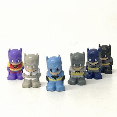 "OOSHIES DC Comic BATMAN White Lantern 1.5/"" Pencil Topper Figure Toy Doll Gift"