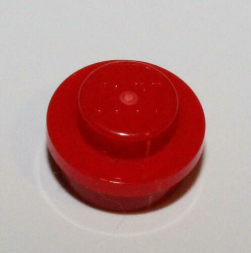 Lego 40x Red Round Plate 1 x 1