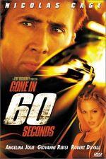 Brand New DVD Gone in 60 Seconds Nicolas Cage Angelina Jolie Robert Duvall