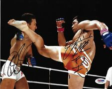 Kazushi Sakuraba & Renzo Gracie Signed Pride 10 8x10 Photo PSA/DNA COA UFC Auto
