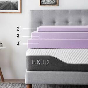 LUCID-2-3-4-Inch-Lavender-Scent-Memory-Foam-Mattress-Topper-Twin-Full-Queen