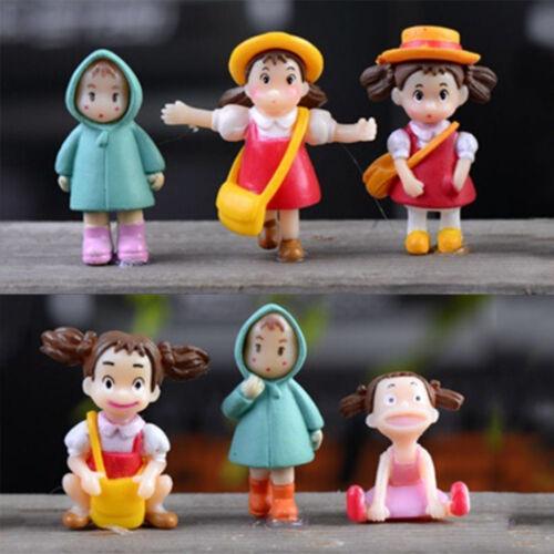 Garten Ornament Miniatur Figurine Handwerk Pflanze Töpfe Fee Puppenhaus Dekor  X