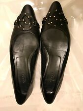 GUCCI FLATS SHOES  GG LADIES SIZE 7  EUC $525 Dust Bag
