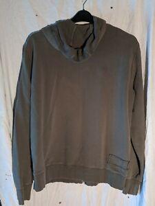 Burton-Kaki-Long-Sleeved-Zipped-Hoodie-Size-XXL