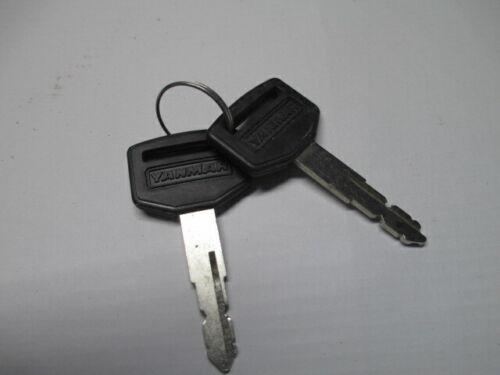 yanmar cub cadet key set 1a7880-52100 fits sc2400 models