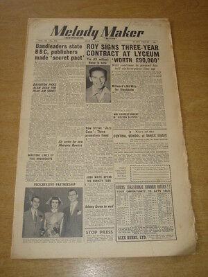 Melody Maker 1950 July 8 Frank Sinatra Harry Roy Bbc Holborn Eric Winstone +
