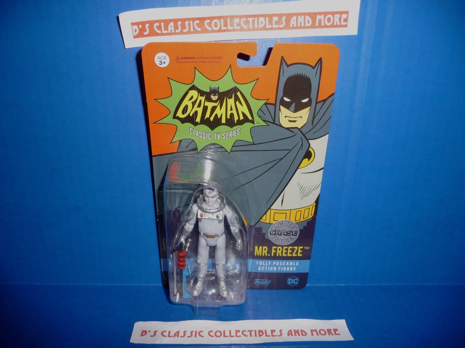 Funko Batman Classic TV Series 1966 Mr. Freeze Chase Figure 3.75  New