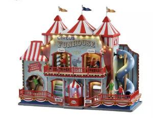 Lemax CIRCUS FUNHOUSE Animated Holiday Village-Carnival -Train
