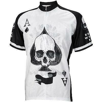World Jersey's Ace of spazio ciclismo Jersey Medium bicicletta