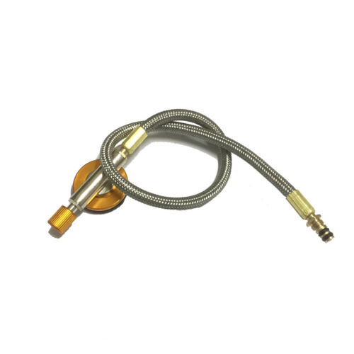 ABCC Silver Burner Extension Tube Gas Stove Parts Practical Stove Catheter