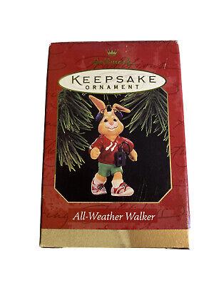 "Hallmark /""All Weather Walker/"" Ornament 1997"