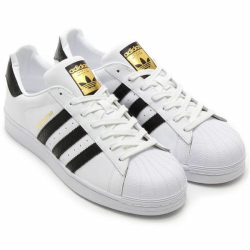 adidas Originals Superstar White/black Gold