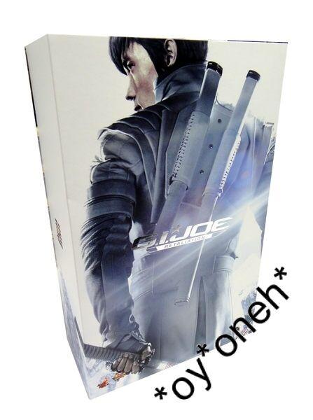 1 6 HOT TOYS G.I. Joe Retaliation 2 Storm Shadow MMS193 Blanc Ninja Lee Byung Hun