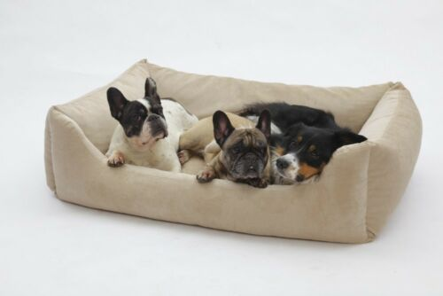 Panier de lit pour chien Madison Sand Beige
