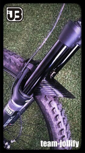JOllify Carbon Mud Guard Fender passend für Rock Shox Boxxer Totem  #503