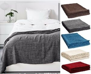 2 X Ikea Tagesdecke 120x180 Plaid Sofaüberwurf Decken Set überwurf