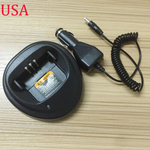 12V 24V Car DC Charger Base Dock For Motorola Radio CP040 CP140 GP3688