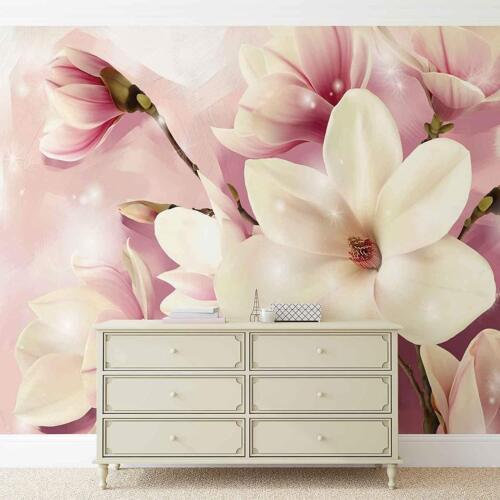 Fleurs Plantes Orchidées Fleurs Nature Texture 3505 Nappes Papier Peint-MAGNOLIA