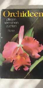 Orchideen pflegen vermehren züchten von Walter Richter Neumann Verlag 208 Seiten