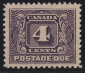 MOTON114-J3-postage-due-Canada-mint-well-centered-XF-cv-100