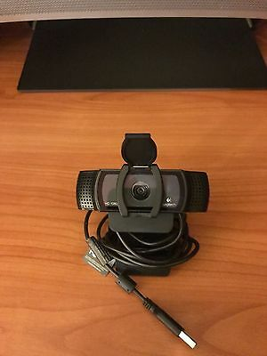 Logitech HD Pro C920 Web Cam with Privacy Cover