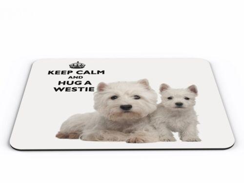 Keep Calm and abbracciare un Westie COMPUTER PC MOUSEMAT-NUOVISSIMO