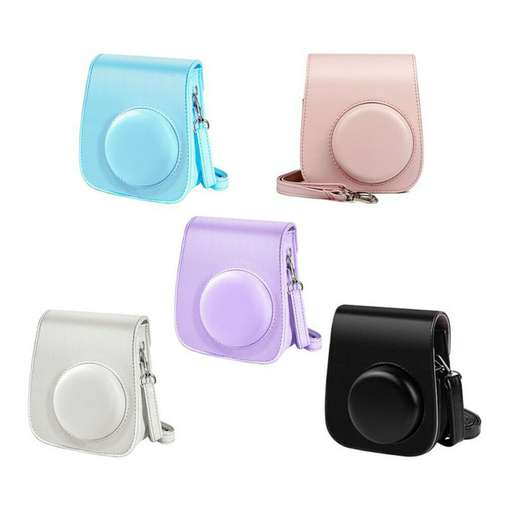 For Fujifilm Instax Mini 11 Instant Camera Case Bag Cover with Adjustable Strap*