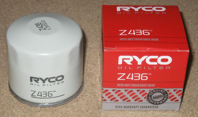 Z436 RYCO Oil Filter for Mazda 2 RX7 FD3S RX8 SE3P MX5 NA NB Miata 323 626 121