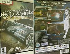 PC NFS Need for Speed Most Wanted Spiel Rennspiel Autospiel Autorennspiel Neu OV