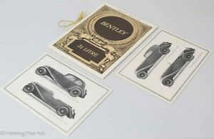 Bentley 3 1/2 Litre Abridged Particulars Brochure 1969 Rolls Royce Club, FINE