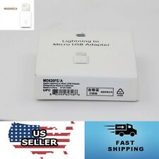 USA - Genuine Apple Lightning to Micro USB Adapter For iPhone 6S 6 Plus 5S 5C 5