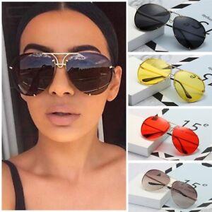 d86936e98e Black   Gold Oversized Aviator Sunglasses Flat Top Big Large Luxury ...