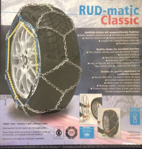 Art.Nr 48482 Größe 0082 Schneeketten RUDmatic CLASSIC SOMMERPREIS!