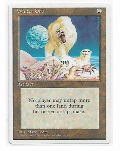 Magic The Gathering ~ 1x Winter Orb ~ 4th Edition ~ LP