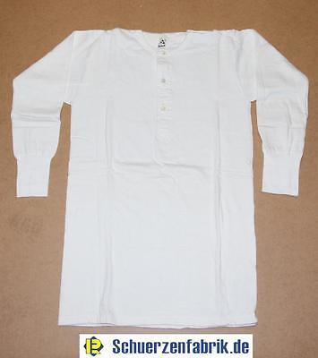 Sehr warmes Herren Thermounterhemd Unterhemd Baumwolle Frottee ¾ Arm weiß