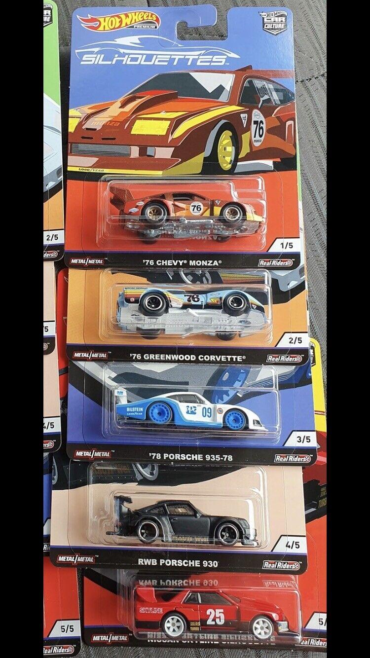 Nuevo Hot Wheels Cultura siluetas serie coche con projoectores horizonte Chevy