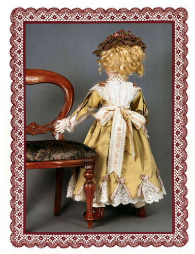 Gildebrief Authentic Antique Doll Fashion Pattern KLH-185 Complete Uncut x