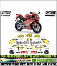 kit adesivi stickers compatibili rs 50 125 rep. spains n1 48 2007