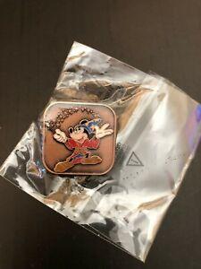 Disney Store Uk Cast Member Guest Service Award Pin Sorcerer Mickey Bronze Ebay