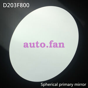 For-reflective-telescope-D203-F800-spherical-reflector-objective-primary-mirror
